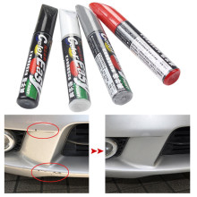 ToHuu Paint Pen Waterproof Auto Car Paint Scratch Repair Pen Brush Marker Pen Car Tyre Tread Care 4 colors Auto car-styling(China)