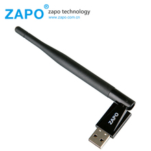 ZAPO 150Mbps Wireless USB 802.11n WIFI Add Bluetooth 4.0 Adapter 5dbi Antenna Network Card for PC Desktop Laptop Tablet Tv