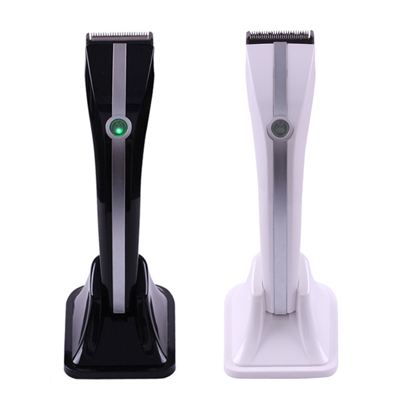 Surker High Quality Goods Electric Hair Clipper Baby Quiet Hair Cutter With Handle Charging Base Four Kinds of Hair Cut Size<br>