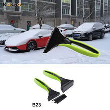 KOSOO Car Snow Shovel With Silica Gel Car Snow Removal Deicing ABS Ice Shovel Snow Remove Tool free shipping 21*12.7CM