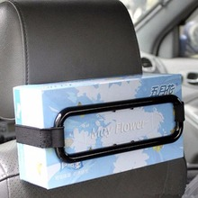 Car Sun Visor Tissue Paper Box Auto Accessories Holder Paper Napkin Seat Back Bracket Paper Hold Clip
