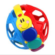 New baby toys kids educational toysbendy hairball toddlers fun multicolor fire activity toys high quality Rattle(China)