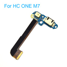 Charger Charging Port Micro USB Port Audio Headphone Jack Dock Sensor Connector Flex Cable for HTC One M7