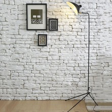 Replica Duckbill Serge Mouille floor lamp White/Black. Nordic industrial loft standing lamp home office lighting Best price(China)