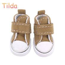 50 Pairs Tilda 3.5cm Doll Shoes for Blythe Doll Toy,1/6 Mini Lovely Dolls Shoes for BJD,Casual Doll Boots Accessories For Blythe(China)