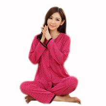 Spring Summer 100% Cotton Pajamas For Women Pijamas Ladies Short Sleeved Casual Pajamas Sets Pyjamas Women Sleepwear XXXL(China)