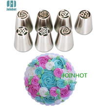 russian piping tips /russian tulip nozzles /cake icing piping nozzles set(China)