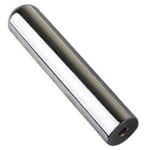 Solid Stainless Steel Tone Bar Guitar Slide for Hawian Guitar Silver