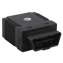 OBD small gps tracking device with 1 year free web based gps server tracking software(China)
