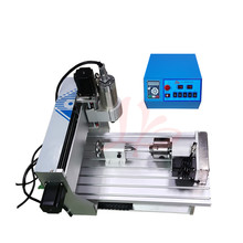 Good news! free tax ship to EU,factory price cnc 3020 4 axis Drilling and Milling Machine with 800w water cooling spindle