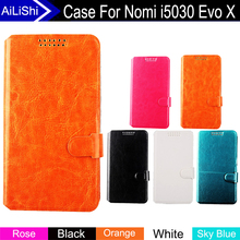 AiLiShi Factory Direct! Case For Nomi i5030 Evo X Top Quality Flip PU Leather Case Exclusive 100% Special Phone Cover In Stock