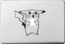 Lovely Pikachu for Pokemon Sticker for apple Macbook Decal Air 11 12 13 Pro 13 15 17 Retina Computer Wall Skin Vinyl Pegatinas