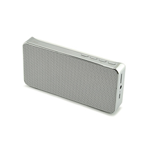 Slim stereo wireless Bluetooth speaker Portable alloy Frame speaker Support TF card AUX FM radio Bluetooth 3.0 hands free(China)