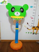 Kids Height Adjustable Portable Basketball Stand Toy Basketball Hoop with A Ball Magic Shot  Children Birthday Gift Hight Qulity