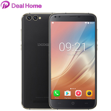 Original Doogee X30 Dual Rear Dual Front Cameras 5.5 inch IPS HD Android 7.0 MTK6580A Quad Core 3360mAh 3G WCDMA Smartphone(China)