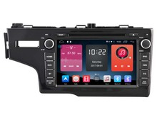 Android 6.0 CAR DVD FOR HONDA FIT 2014 LHD car audio gps player stereo head unit Multimedia build in 4G module(China)