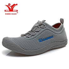 Buy 2018 XIANG GUAN Mens Walking Shoes Breathable Mesh Outdoor Sports Shoes Light Weight Walking Shoes Male Free 33009 for $35.00 in AliExpress store