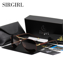 Sirgirl 2017 iTao Luxury Brand Polarized Sun Glasses Men HD Polarized Pilot Male Sunglasses Oculos Black Aviator Driving eyewear