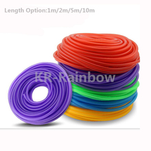 1m 3m 10m Red Blue Green Yellow Motorcycle Multicolour Fuel Hose Pipe Tubing / Vittae / Fuel Tank Tube meter