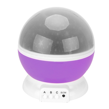 ITimo Rotation Lamp USB Lamp Star Moon Sky Light Projector Night Light High Quality Romantic Children Baby Sleep Lighting(China)