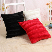 Nordic Solid Color Pillow cases Black/White Bedroom youtube Pillow Cover Decorative pillowcase 45CMX45CM(China)