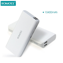 10400mAh ROMOSS Sense 4 For Xiaomi mi4 Portable Charger External Battery Pack Power Bank Fast Charging For iPhone Samsung