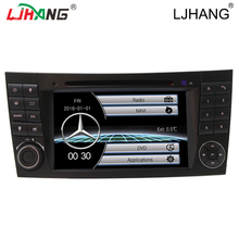 Auto Radio 2DIN Car DVD Player For Mercedes Benz E200 E220 E240 E270 E280 E320 E350 CLK W209 W211 W219 W463 multimedia wifi FM(China)