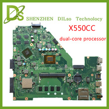 For ASUS X550CC X550CL Laptop motherboard X550CC mainboard REV2.0 with graphics card freeshipping 100% tested