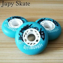 Japy Skate 90A Original Citymonkey Roller Skating Wheels Professional Slalom Sliding Inline Skates Wheel SEBA Powerslide Patine(China)