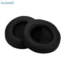 Ouhaobin 1 Pair Replacement Ear Pads Cushions Cover For Logitech USB 350 Headphones Soft Earpad Popular DropShipping Sep11(China)