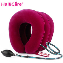 Inflatable Air Cervical Neck Traction Neck Massage Neck Shoulder Pain Relief Neck Muscle Relax Cervical Pillow Massager Brace(China)
