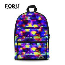 New 2017 Casual Women Backbag Colorful Oxford Backpacks Fashion Girls Lady Bling Backpack College Children School Travel Pack