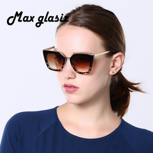 Fashion Retro Female Sunglasses Men Women Designer Eyeglasses Eyewear Metal Frame Good Qunlity UV400 Glasses lunette de soleil(China)