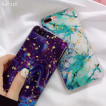 Buy Kerzzil Gold Foil Bling Sequin Marble Phone Case iPhone 6 7 8 Plus Cases Soft Silicone Back Cover iPhone 7 8 6S X Capa for $2.29 in AliExpress store