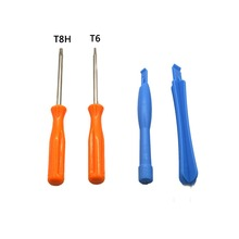 WLXL 500set /lots 4 in 1 Opening Tools Kit Screw Driver Pry Repair Tool Orange T8H T6 Screwdriver for X1 Xbox One Controller(China)