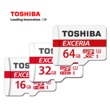TOSHIBA Micro sd Card 16GB/32GB/64GB High Speed 90MB/S Mini TF Memory Card 4K Class10 U3 Microsd Card for Smartphone/Tablet