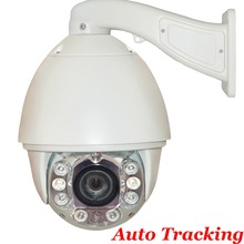 "1/3"" Sony Effio CCD 30X ZOOM Auto Tracking 120M IR High Speed Dome Outdoor Weatherproof Security Ptz Camera"
