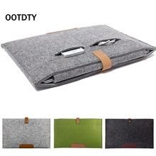 "OOTDTY For Apple NoteBook Air Pro11"" 12"" 13"" 15"" Felt Sleeve Laptop Box  Cover Bag Brand New High Quality Wholesale"