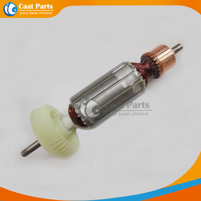 Free shipping! AC 220V Drive Shaft Electric Hammer Armature Rotor for Bosch GWS14-150C,High-quality!<br>
