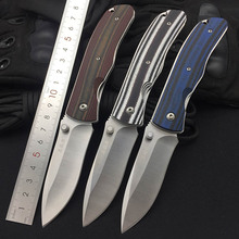 Sanrenmu 9055 8Cr14Mov Blade Folding Knife G10 Handle Outdoor Hunting Camping Fishing EDC Pocket Clip Tool Utility Multi-Tool