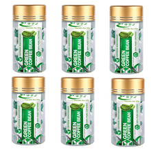 Green coffee bean extract weight loss product women slimming Coffee bean - 6 bottles for More than 3 months supply(China)