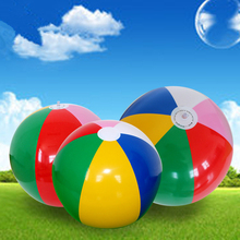 40CM Colored Children & Adult Inflatable Beach Ball Toys Outdoor Sports Play Fun Juggling Ball PVC Pool & Accessories(China)
