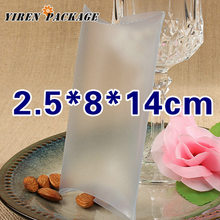 10 pcs/lot2.5*8*14cm frosted pillow shaped box / package box / candy container / PVC matrial / plastic boxes