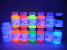 UV Glow Neon Face and Body Paint,  Glow Blacklight Neon Face and Body Paint, 10 react neons 2 non-neon and 100ml pots