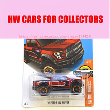 New Arrivals 2017 Hot 1:64 Car wheels 17 ford f-150 raptor  Models Metal Diecast Cars Collection Kids Toys Vehicle For Children