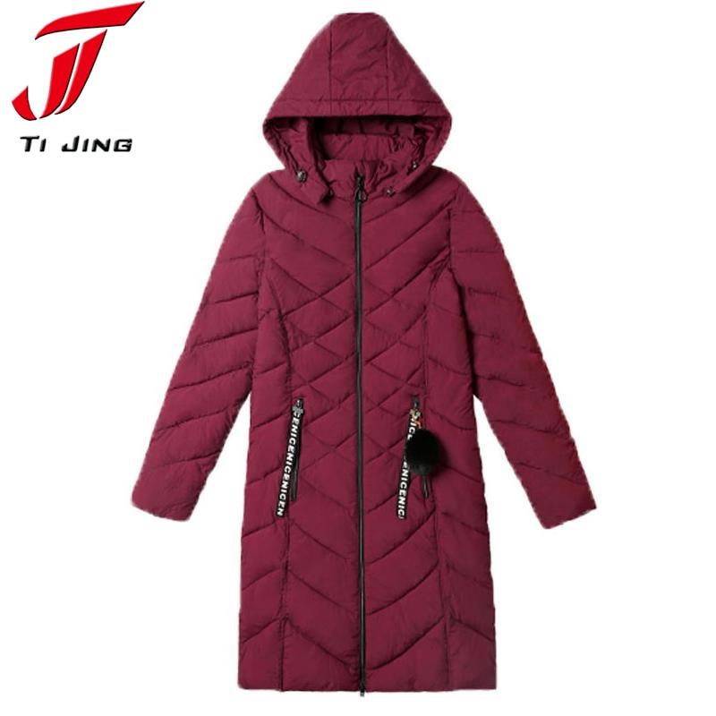 2017 New Long Parkas Female Women Winter Coat Thickening Cotton Winter Jacket Womens Outwear Parka for Women Winter Outwear L360Îäåæäà è àêñåññóàðû<br><br>