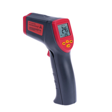 12:1 Handheld Non-contact Digital Infrared IR Thermometer Temperature Tester Pyrometer LCD Display with Backlight -32~530C