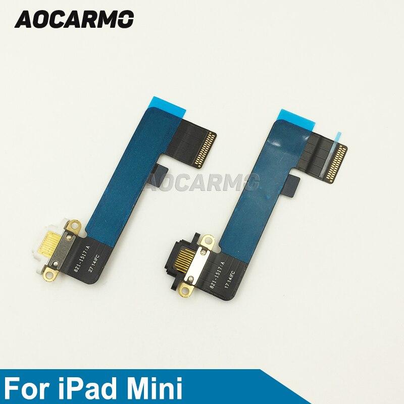 4X Charging Connector Dock Port Flex Cable for iPad Mini 1 A1455 A1454 A1432 Bla