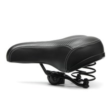 Wide Big Bum Mountain Bike Saddle Professional MTB Road Bicycle Cycling Seat Cushion Seat Pad Bike Parts Cycling Bicycle Saddle(China)