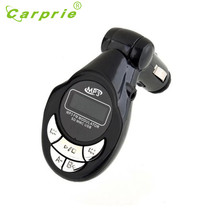 New Car MP3 Player Wireless FM Transmitter Modulator USB SD CD MMC Remote XRC Wholesale Price_KXL0424(China)